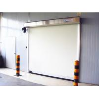 Anti-electrostatic Fabric Roll up Door , High Frequency Smooth Opening Speed 1.5m/s Manufactures