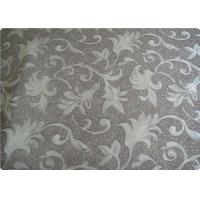 Bedding / Mattress / Shoes Polyester Elastane Fabric Retro Upholstery Fabric Manufactures