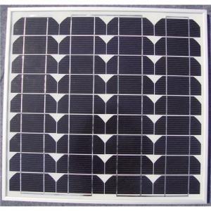 Solar panel mono 20W Manufactures