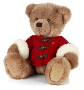 Soft Colorful Teddy Bear Plush Toys With Overcoat , Custom Stuffed Animals