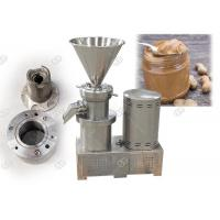 CE / Iso SS304 Industrial Peanut Almond Butter Making Machine Small Scale Manufactures