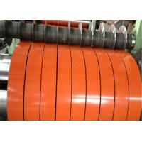 DX51D SGCC GI Steel Strip Coil Color Coated Galvanized For Corrugated Steel Roof Manufactures