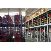 Quality Two Layer Metal Industrial Mezzanine Systems Upright Frame Size H4064 X D760mm for sale