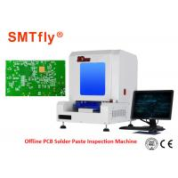 Automatic Inline Solder Paste Inspection Machine With AC Servo Motor System SMTfly-V700 Manufactures