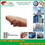 Boiler Unit CFB Boiler Superheater Platen Superheater High Heating Efficiency Manufactures
