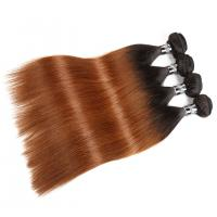 Comfortable 1B/30# Ombre Human Hair Extensions For Women CE BV SGS Approval Manufactures