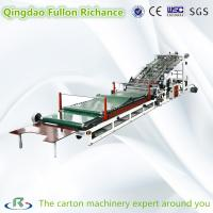 High Speed Automatic Complete Corrugated Carton Box Laminating Machine
