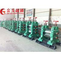 High Speed Steel Rolling Machine , 5 Tons / Hour Steel Rolling Mill Machinery Manufactures