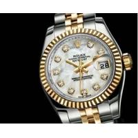 Rolex watch Rolex Datejust Swiss Movement quality watch with diamond crystal shinning Manufactures