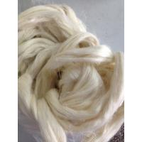 China 100% Natural Raw Short Hemp Fiber Breathable for Spinning And Weaving wholesale