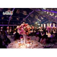 Transparent Design Aluminum A Frame Tent For Outdoor Event Wedding Party Manufactures