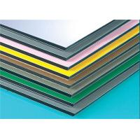 Anodized Composite Wall Panels , Aluminium Composite Sheet Easy Maintain Manufactures