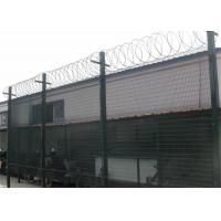 China High Security Anti Climb Mesh Fence Panels ,3 x 0.5 diameter 4.00mm ,12.7mm x 76.20mm on sale