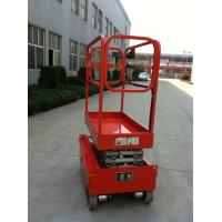 10M Lifting Order Picker Forklift Scissors Type Aerial Work Platform ASE1012 24V Manufactures