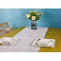 Metallic Color Wood Pulp Disposable Paper Tablecloth Biodegradable Embossed Type Manufactures