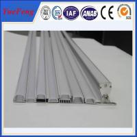 6063 T5 led aluminum profile for led strip lights, aluminium led lighting profile Manufactures