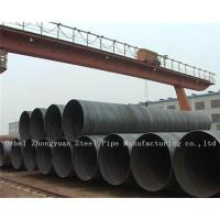 API 5L Large Diameter Spiral  Welded steel pipe Manufactures