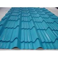 Aluminum Metal Roof Sheet Making Machine , Steel Roof Tile Forming Machine Manufactures