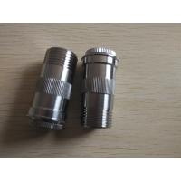 Stainless steel beer valve joint,Customized cnc precision machining parts with all kinds of finishes Manufactures
