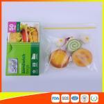Waterproof Plastic Sandwich Bags Reclosable 18 X 17cm For Food Storage Manufactures