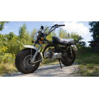 50cc High Powered Motorcycles With Super Wide Front And Rear Tires Manufactures