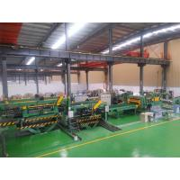 Electric Control Cut To Length Line With PLC Contolled 28 Tons Manufactures