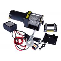 China Single Line 2500 lbs Electric ATV Winch , Portable Cable Winch on sale