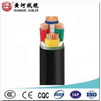 IEC60502 PVC Insulated Cable Xlpe Insulated Pvc Sheathed Cable 0.6 / 1KV Manufactures