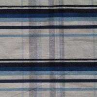 Cotton Yarn-dyed Check Twill Fabric, Measures 21 x 16 or 128 x 60, 57 or 58 Inches Manufactures