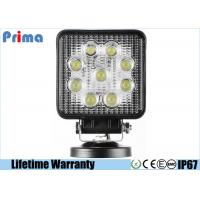 China Spot / Flood 27W Led Work Light IP67 Waterproof High Intensity Leds on sale