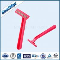 No Electric Plastic Double Edge Razor With Fixed Head And Comfortable Plastic Handle Manufactures