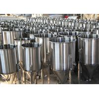 100L Custom Beer Conical Fermenter , Stainless Steel Fermentation Tanks Manufactures