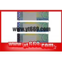 Security Hot Stamping Hologram Strip Ticket Manufactures