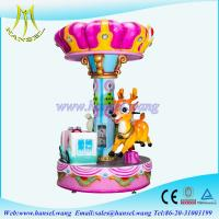 Hansel latest design christmas deer merry go rounds for sale Manufactures