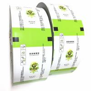 Cookie Biscuit Plastic Food Packaging Film Roll / Laminating Flexible Packaging Film Manufactures