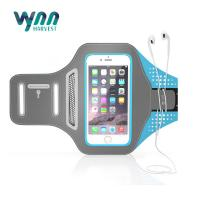 China Portable Adjustable Sports Arm Bag Lycra Fabric For IPhone 7 Assorted Colors on sale