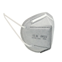 Spunbond Non Woven KN90 Folding Respirator Outdoor Particle Filtering Manufactures