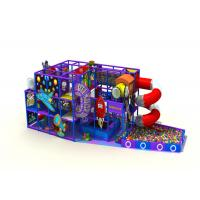 Preschool Kids Indoor Playground Equipment For Kindergarten Anti Static KPT181017
