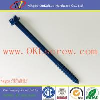 Hex Washer Head Slotted Corrosion Resistant Concrete Screws Manufactures