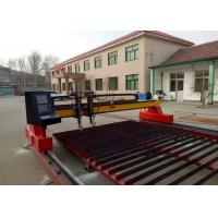 Metal CNC Plasma Cutting Machine With Straight / Bevel Cutting Torch Optional Manufactures