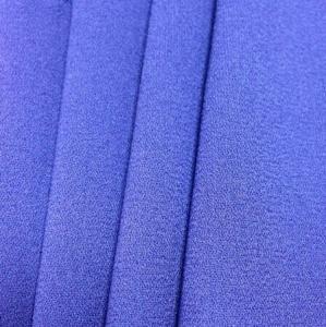 China 50D+68D ITY moss crepe fabric,women garment fabric on sale