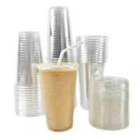 China Drink Single Wall 20oz Clear Disposable Plastic PET Cups on sale