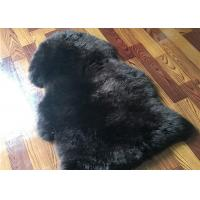 Real Sheepskin Rug Long lambswool Double Pelts Sheep Skin Hides for hotel lobby Manufactures