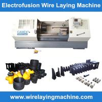 canex wire laying machine molds manufacturing electro fusion fittings, pe coupling wire la Manufactures