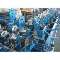 Customized CZ Purlin Roll Forming Machine , Electric Fully Automatic C Purlin Machine Manufactures