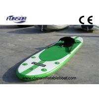 China Adjustable Long Inflatable Standup Paddleboard Sit On Kayak for One Person on sale