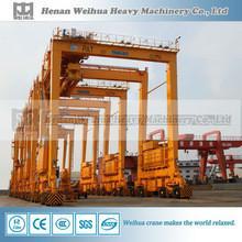 China rubber tyre gantry crane on sale