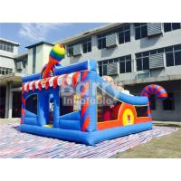 China 0.55mm PVC Kids Inflatable Outdoor Playground / Toddler Bounce House on sale