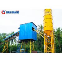 Small Hzs60 Concrete Batching Plant Equipment , 4.1m Portable Concrete Batch Plant Manufactures