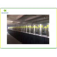 Automatic Retractable Parking Bollards , Hydraulic Rising Bollards 600mm Height Manufactures